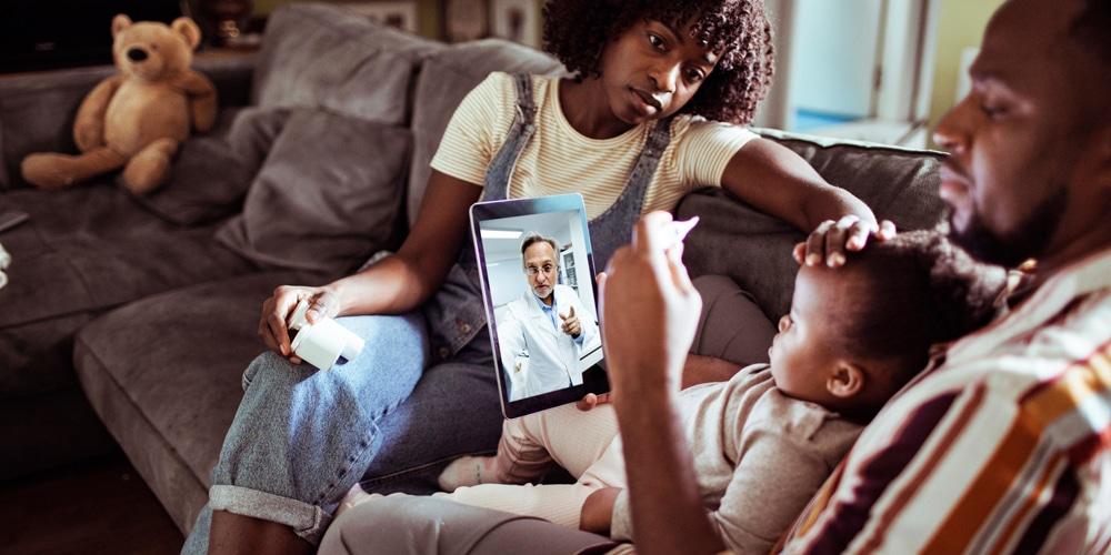 Tecnologia e saúde na palma da mão