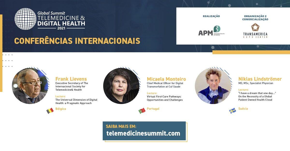 Conferências internacionais debatem temas relevantes que estão transformando o cenário da saúde
