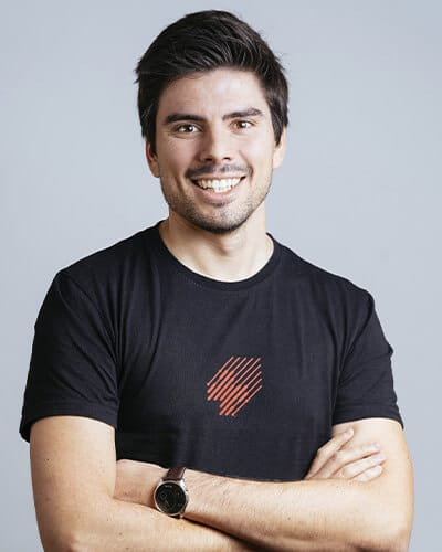 André Eiras dos Santos, MSc, MBA Founding team of SWORD Health and VP of Strategic Business Development